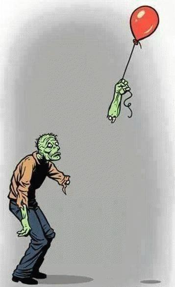 zombie humour