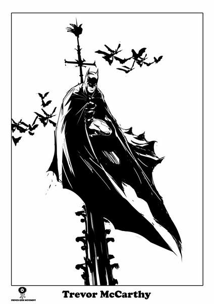 Batman à Notre Dame McCarthy A3