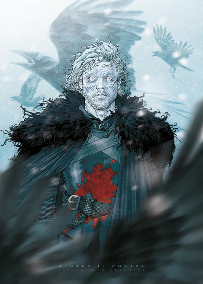 Print FGM Game of Thrones Yann Valeani